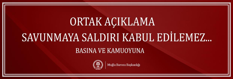 """"""" SAVUNMAYA SALDIRI KABUL EDİLEMEZ """""""
