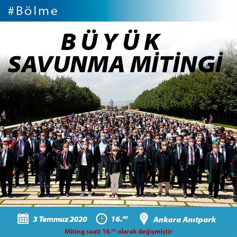 3 Temmuz 2020 günü Ankara Anıtpark